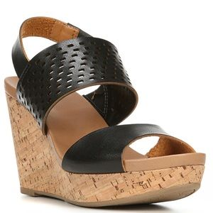 Dr Scholl's Move It Cork Wedges